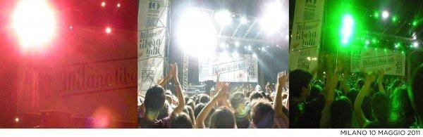 bandiera italiana e1305107629786 MILANO LIBERACI DAL MALE   folla pacifica al concerto gratuito di ieri sera