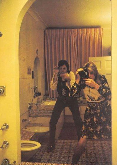 paul and linda mccartney 2 a Linda McCartney  LIFE IN PHOTOGRAPHS ecco le foto selezionate da Paul