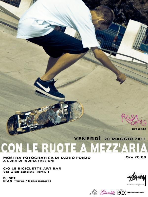 ruoteglam CON LE RUOTE A MEZZARIA   mostra skate venerdì 20 Maggio