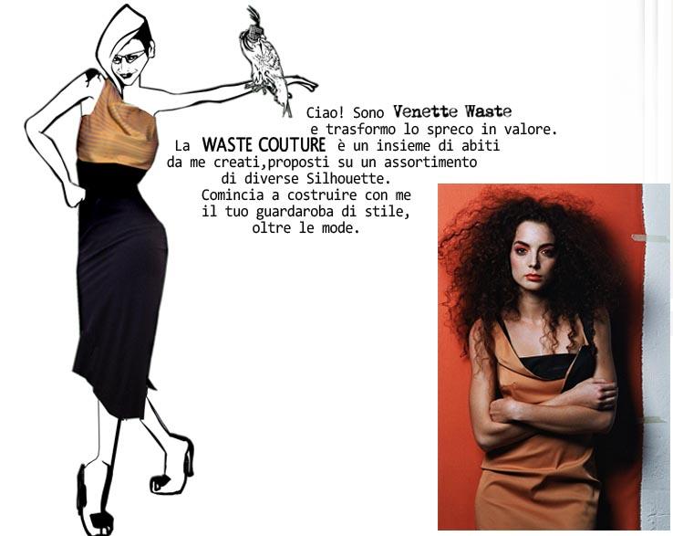 Waste Couture Waste Couture: un fumetto, un sogno e bellissimi abiti!