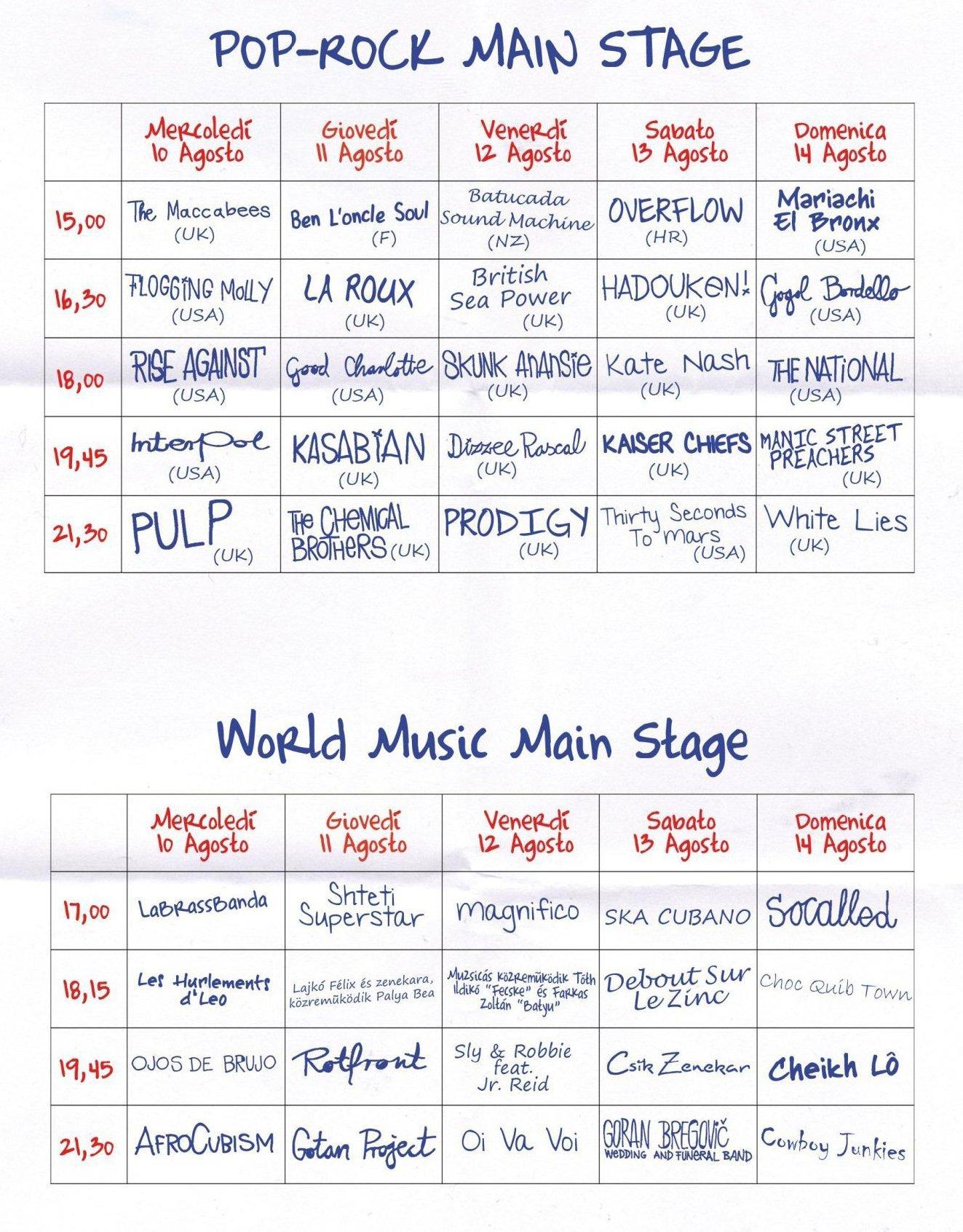 Senza titolo 1 SZIGET 2011   nel programma ufficiale confermato Prince