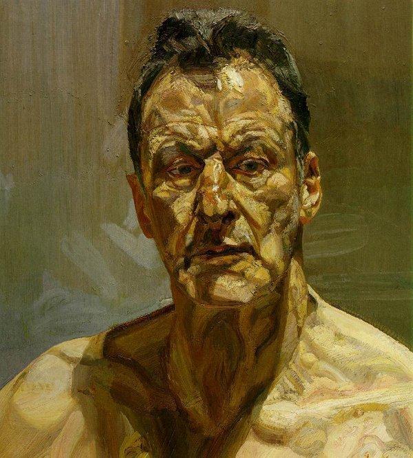 lucian freud4668 Voglio che la pittura sia carne Omaggio a Lucian Freud