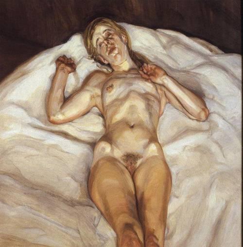 lucian freud 1978 1979 xx rose1 Voglio che la pittura sia carne Omaggio a Lucian Freud