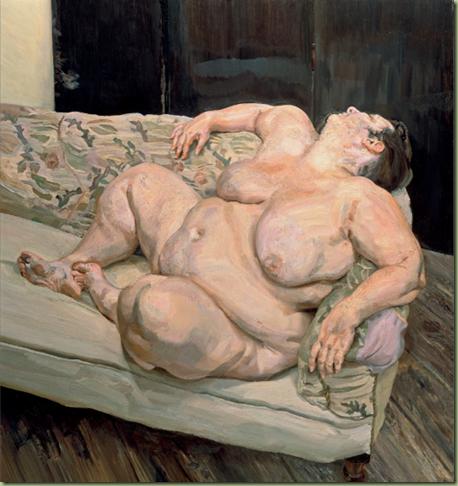 lucian freud thumb Voglio che la pittura sia carne Omaggio a Lucian Freud