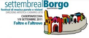 settembrealborgo 300x129 1961 2011   50 anni d arte nella Reggia di Caserta