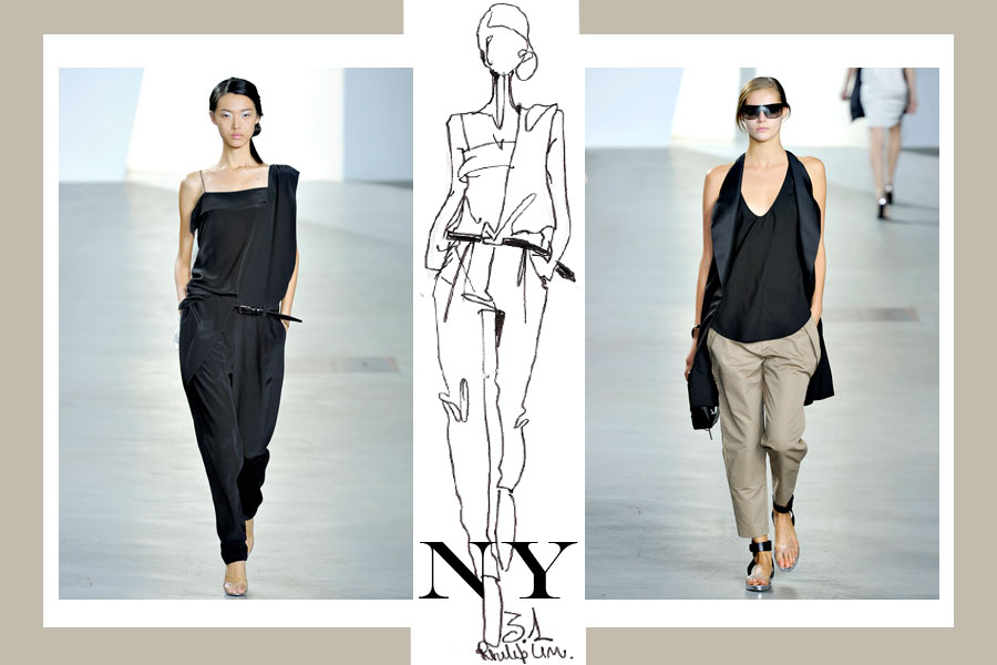 3.1 philip lim NEW YORK VS LONDON   s/s 2012