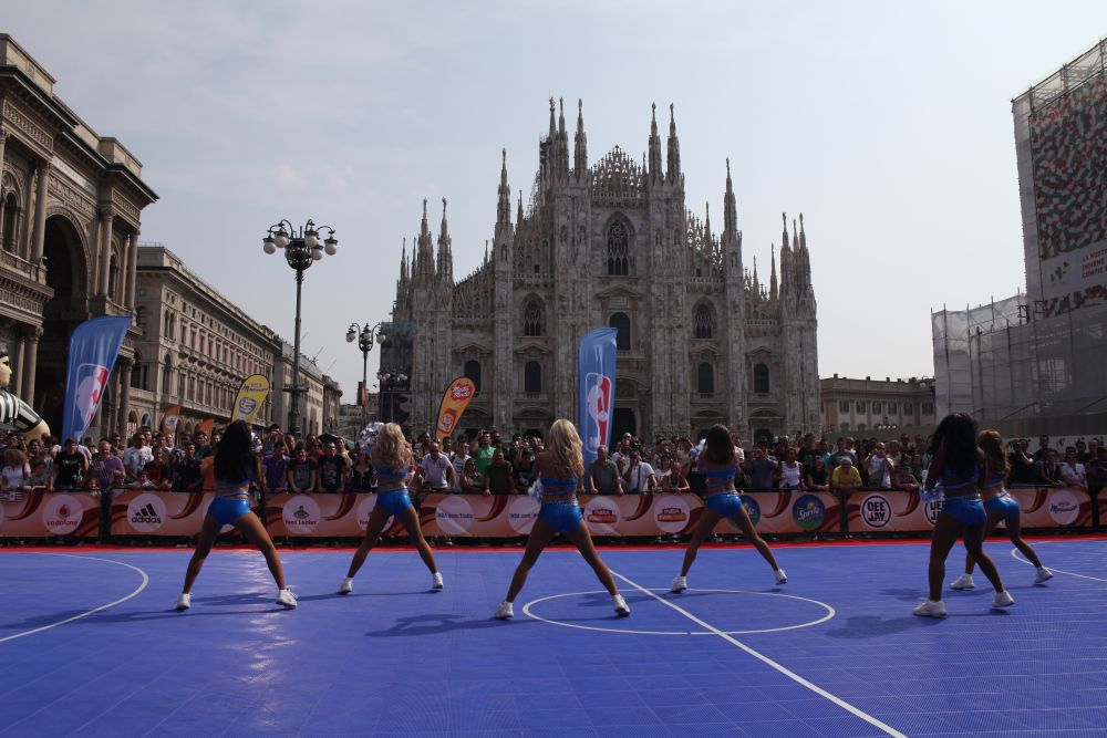 IMG 9140 low NBA FAN ZONE  domani a Milano, basket e cheerleaders!