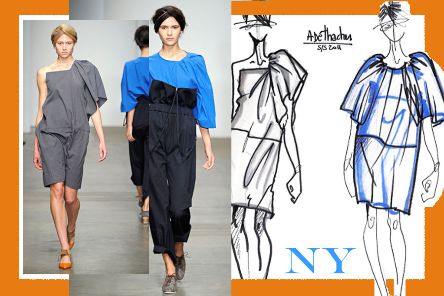 a detacher NEW YORK VS LONDON   s/s 2012