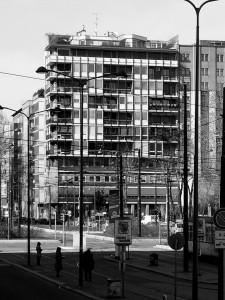 edificio per abitazioni e uffici piazza della Repubblica 11 Vito e Gustavo Latis 1953 56 AS 225x300 DESIGN WEEK END MILANO   diamoci del tu