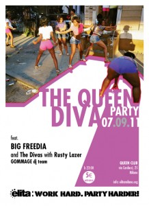 invito+Queen+Diva+Party 218x300 New Orleans Bounce   Big Freedia Elita @Nike Stadium Milano