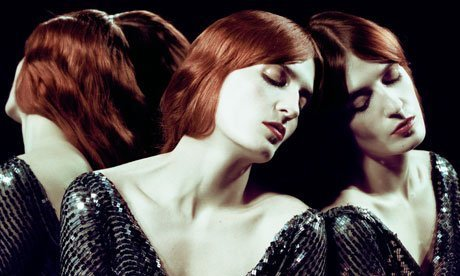FLORENCE AND THE MACHINE -  live @ Hackney Empire Theatre, London