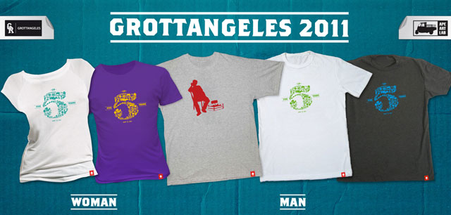 2011 all GROTTANGELES   glocal t shirts
