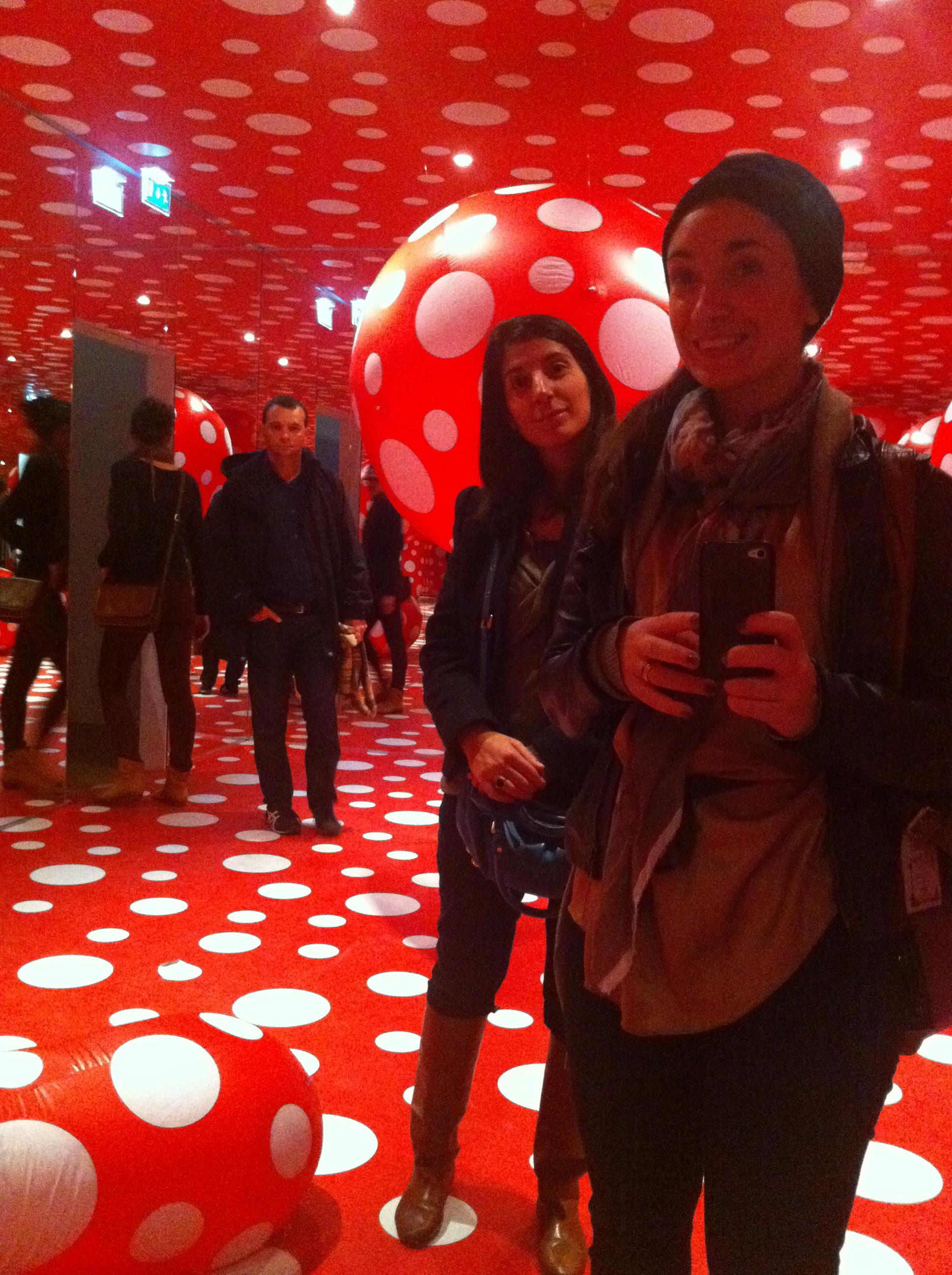 IMG 1985 YAYOI KUSAMA   retrospettiva al Centre Pompidou
