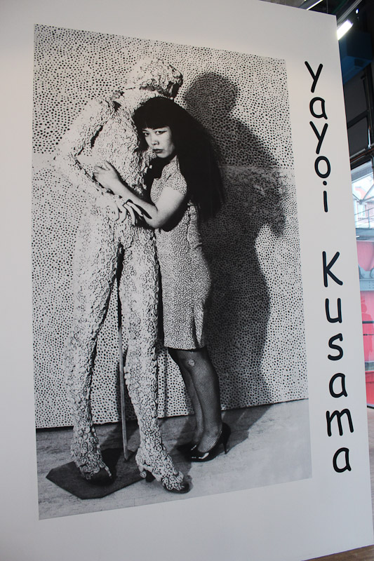 IMG 6880 YAYOI KUSAMA   retrospettiva al Centre Pompidou