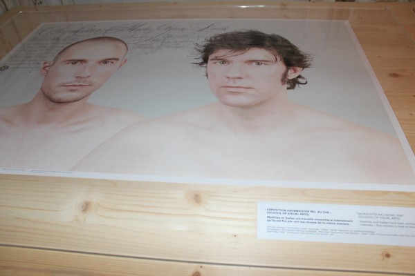 IMG 70071 600x400 STEFAN SAGMEISTER   Another exhibit about promotion and sales material