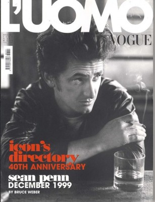 LUomo Vogue May June 2008 Sean Penn by Bruce Weber thumb 307x400 LUOMO VOGUE   copertine in mostra a Milano