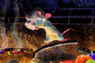 Mostra Pixar MIlano Ratatuille HOME PIXAR  IN MOSTRA AL PAC DI MILANO   25 anni di emozioni in computer grafica