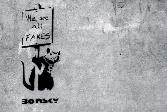 banksy we are all fakes BANKSY   We are all fakes