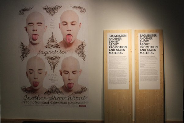 cover 601x400 STEFAN SAGMEISTER   Another exhibit about promotion and sales material