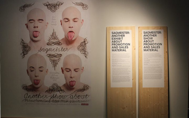 STEFAN SAGMEISTER - Another exhibit about promotion and sales material 1