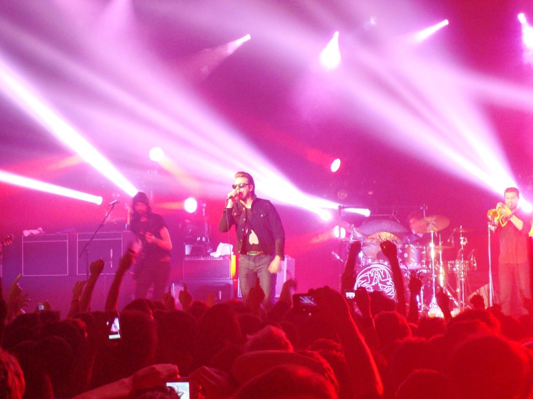kasabian 1 KASABIAN   live ieri sera a Milano
