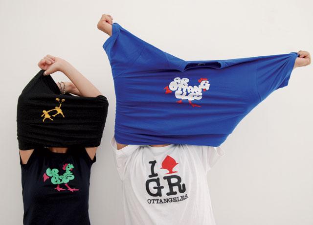 pumo GROTTANGELES   glocal t shirts