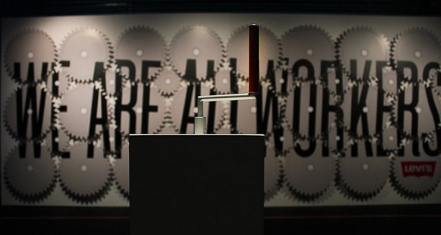 weareallworkers 640x341 STEFAN SAGMEISTER   Another exhibit about promotion and sales material