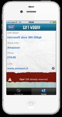 friend detail reserved 212x400 GIFT WRAPP   liPhone App dei tuoi desideri