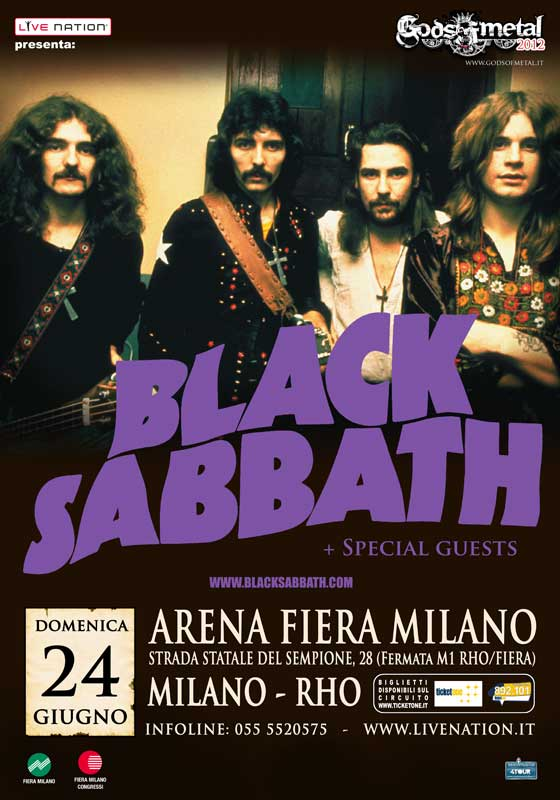 gom2012 index sito GODS OF METAL 2012   tornano i Black Sabbath