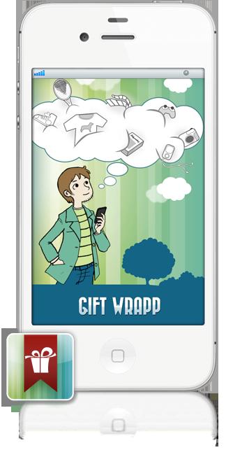 iphone 2 GIFT WRAPP   liPhone App dei tuoi desideri