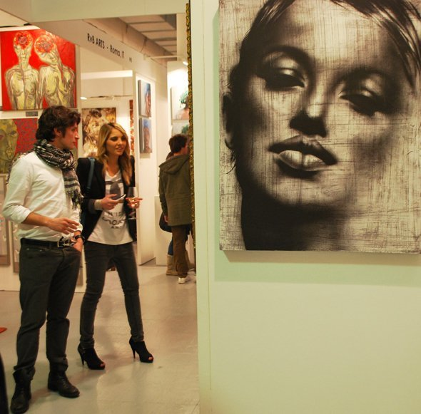 visitors AFFORDABLE ART FAIR   torna a Milano larte low cost