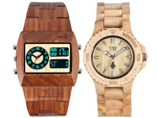 wewood wooden watch 1 537x402 WOOD DESIGN   legno e tecnologia