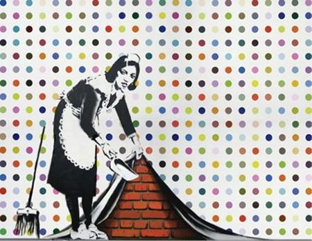 2221103007 9b13e5527f DAMIEN HIRST    Spot Paintings una mostra per 11 location