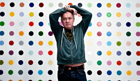 Damien Hirst1 480x280 DAMIEN HIRST    Spot Paintings una mostra per 11 location