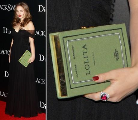 Natalie Portman and her Lolita bag 460x400 OLYMPIA LE TAN   mai giudicare un libro dalla copertina