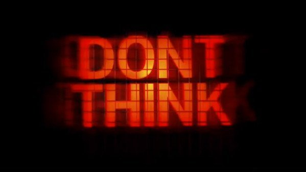 chemical brothers  don t think 8898 CHEMICAL BROTHERS   lelenco dei cinema che proiettano Dont Think