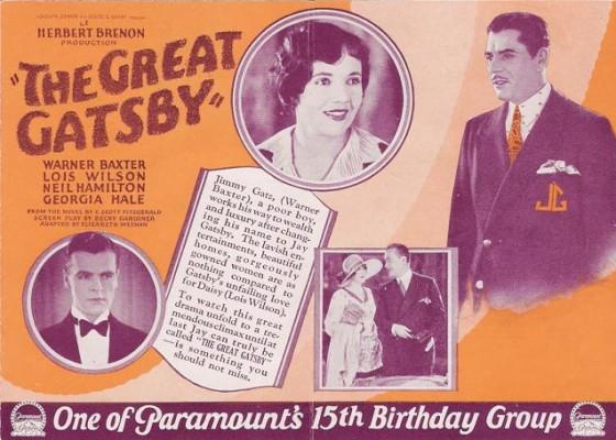 great gatsby h 560x400 IL GRANDE GATSBY DI SERAPIAN   un romanzo, 4 film e una borsa!