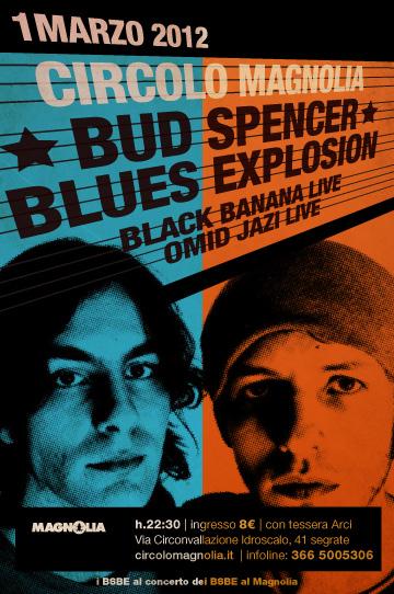 1328897187 BUD SPENCER BLUES EXPLOSION   in concerto il 1 marzo al Magnolia