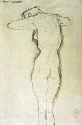 klimt 1.jpg 262x400 IL MIO REGNO NON E DI QUESTO MONDO   Gustav Klimt allo Spazio Oderdan