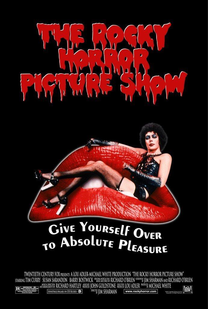 rockyhorrorpictureshow poster02 691x1024 THE ROCKY HORROR PICTURE SHOW   da 33 anni al Cinema Mexico