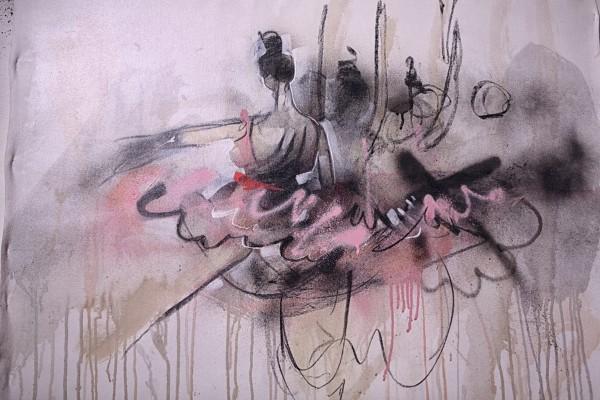 IMG 8488 600x400 AUSTRALIAN GRAFFITI   la prima mostra di Lister a Milano