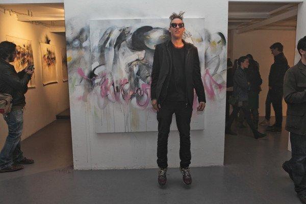 IMG 8766 600x400 AUSTRALIAN GRAFFITI   la prima mostra di Lister a Milano