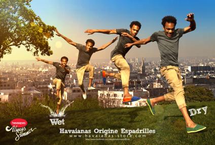 jump Havaianas reinventa le Espadrillas: un anticipo di estate!