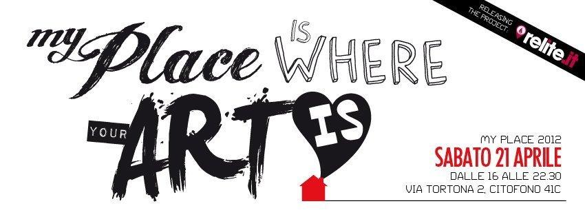 MY PLACE 2012 – 100 mq di talenti