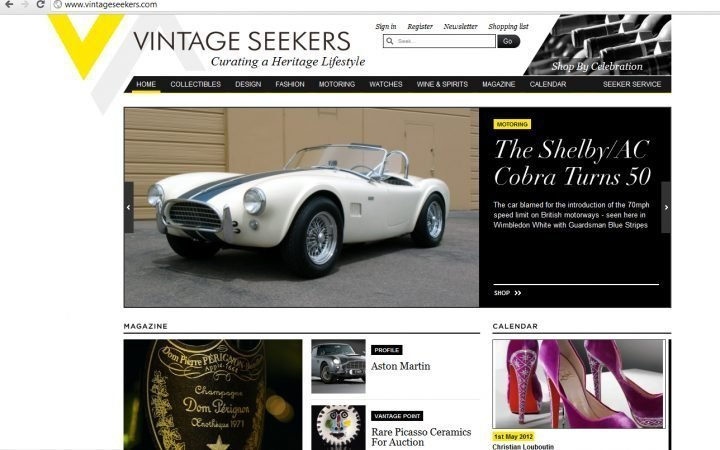 VINTAGE SEEKERS - l'online store che batte i mercatini 1