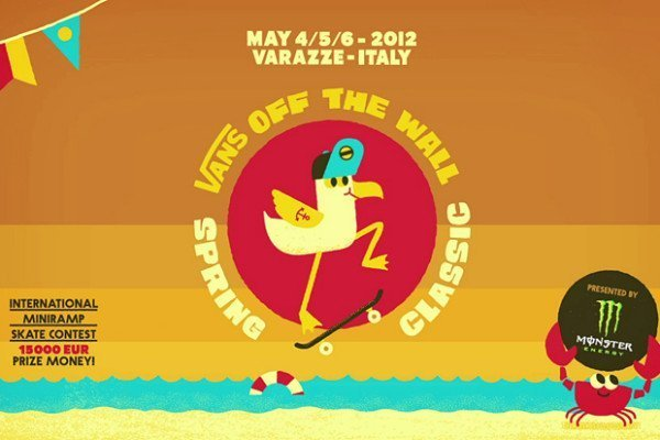 VANS OFF THE WALL SPRING CLASSIC - questo weekend a Varazze 1