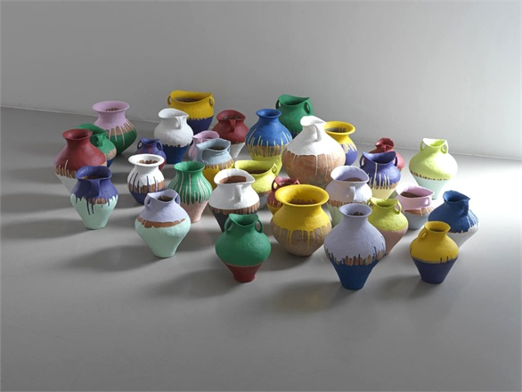ai weiwei coloured vases 2010 1729765 0x440 AI WEIWEI   Lisson Gallery Milano