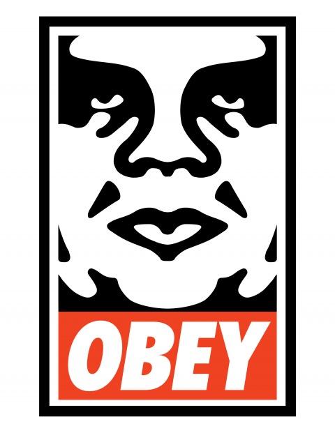 obeyiconhighrescopy SHEPARD FAIREY aka OBEY   in mostra a Milano