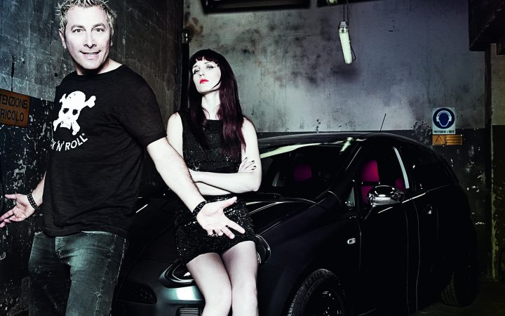 ALL YOU NEED IS ROCK. PUNTO - Ringo e Giulia Salvi per Fiat 1