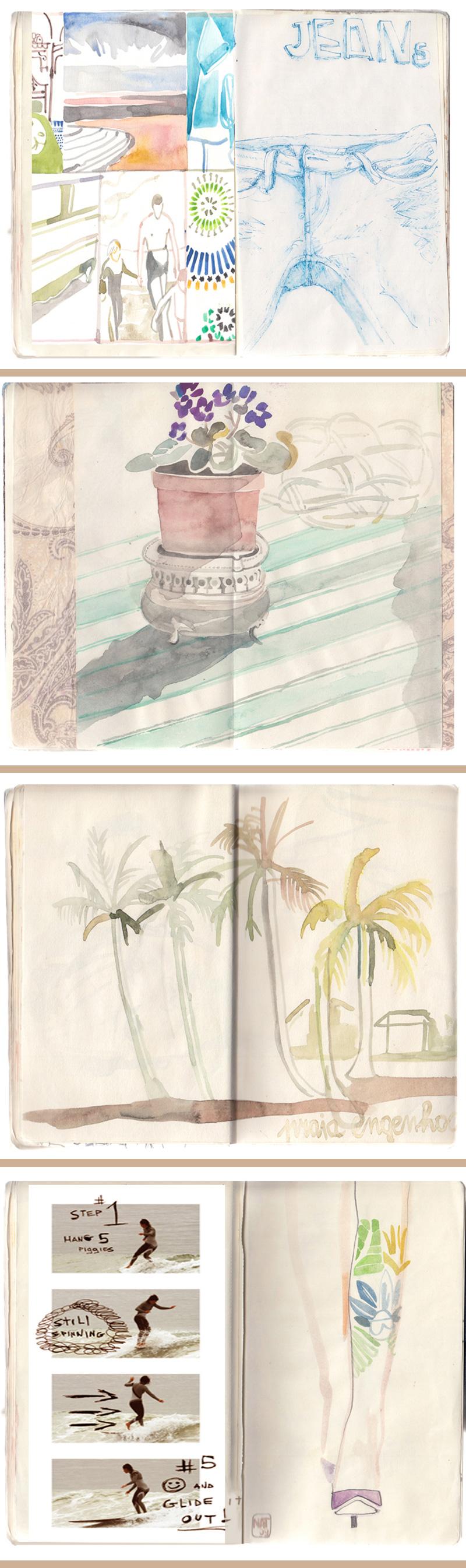nat1 NATALIA RESMINI   portraits and palm trees per Quiksilver